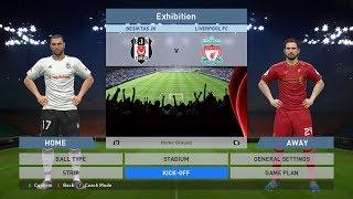 Besiktas JK vs Liverpool FC, BJK Vodafone Park, PES 2016, PRO EVOLUTION SOCCER 2016, Konami, PC GAME