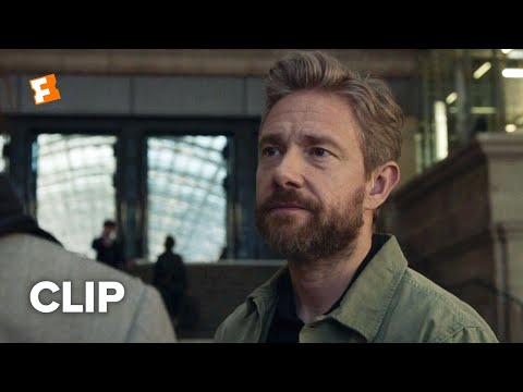 The Operative Movie Clip - Train Station (2019)   Movieclips Indie