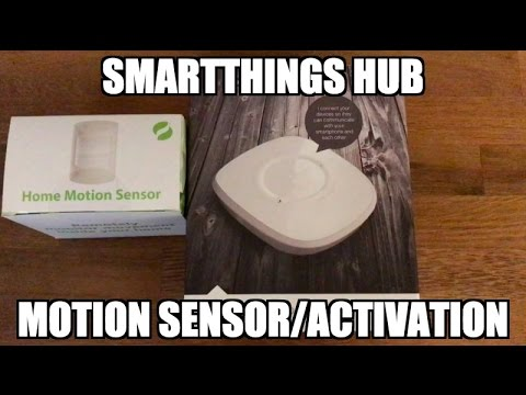 SmartThings Hub and Motion Detectors (Fans, Lights, Temperature)