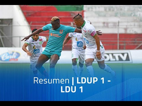 LDU Portoviejo LDU Quito Goals And Highlights