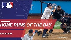 Watch all the home runs from May 29, 2018