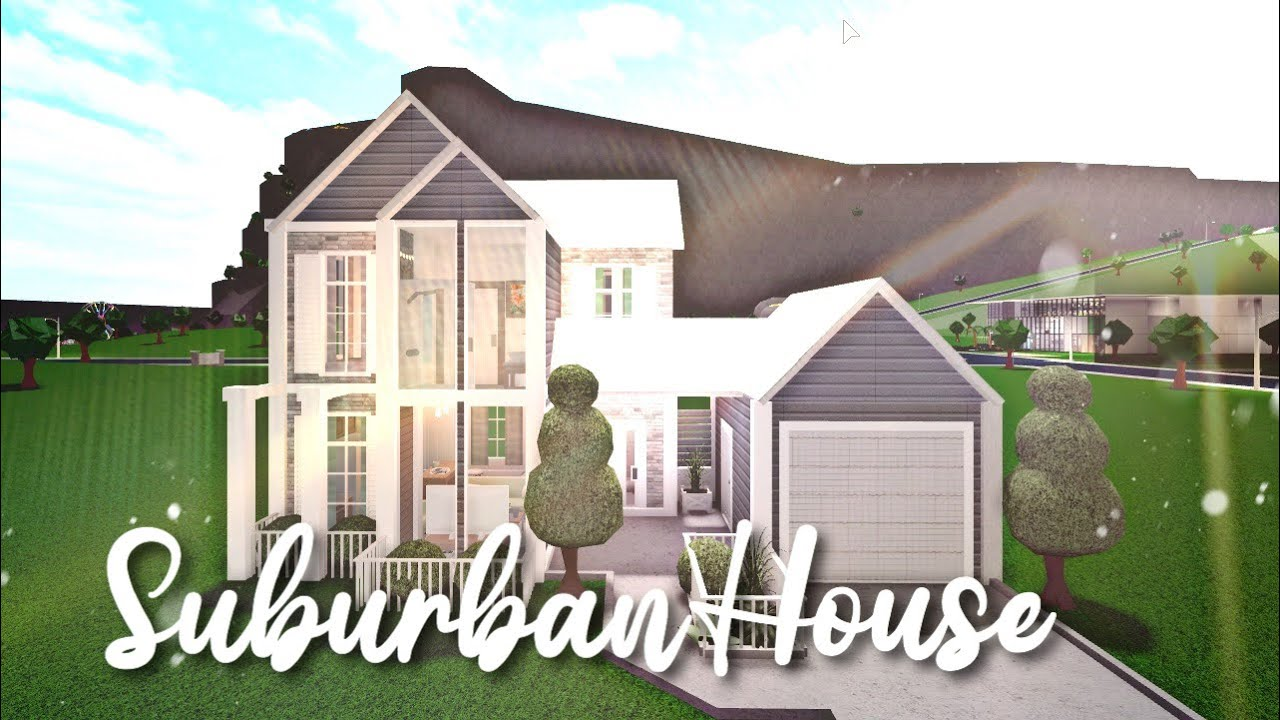 Bloxburg: Suburban House