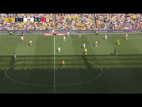 Matildas Vs Chile (International Friendly - Sydney) - Full Match - 9-Nov-2018