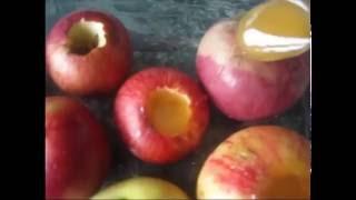 Запекаем яблоки с медом в духовке (Baked apples with honey in the oven)