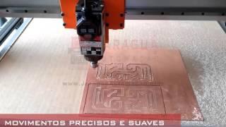FABRICAÇÃO DE PLACA DE CIRCUITO   ROUTER CNC COMPACT PRO