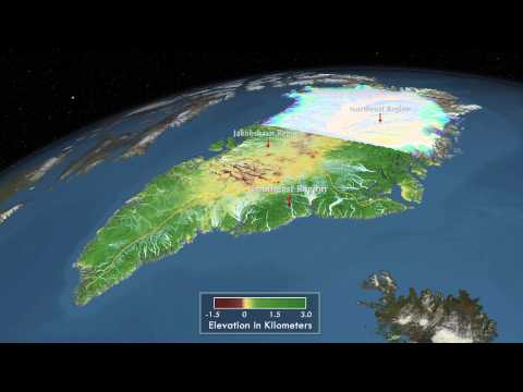 Greenland Ice Sheet Changing