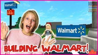 BUILDING MY OWN WALMART STORE!