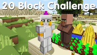 Minecraft PS4 - 20 Block Challenge - Time To Farm! (7)
