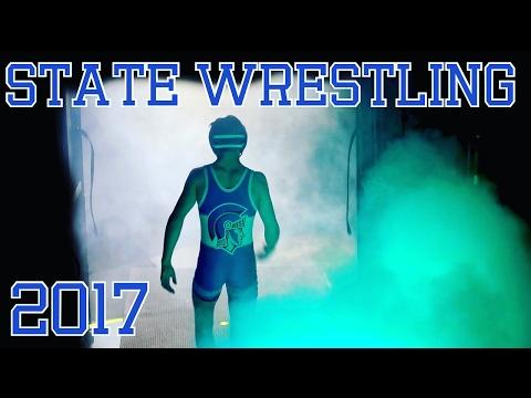 STATE WRESTLING TOURNAMENT VLOG 2017