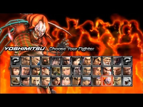 Tekken Dark Resurrection PSP Yoshimitsu  playthrough