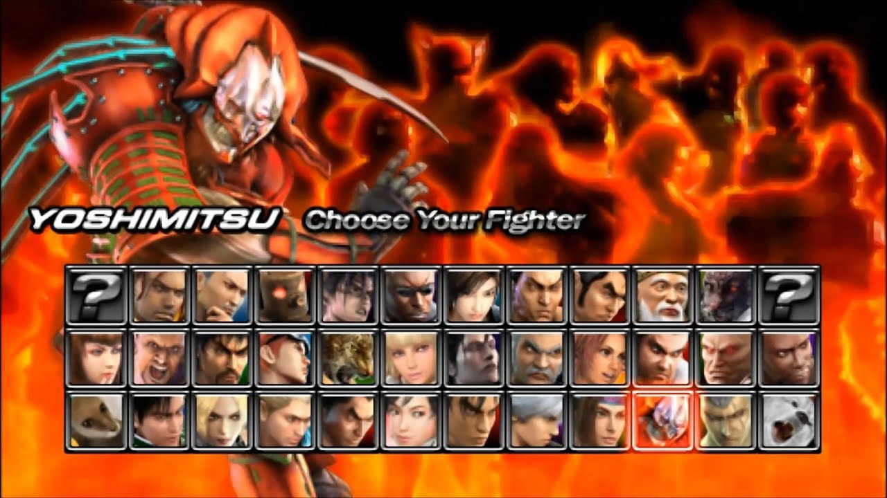 Tekken Dark Resurrection Psp Yoshimitsu Playthrough Youtube
