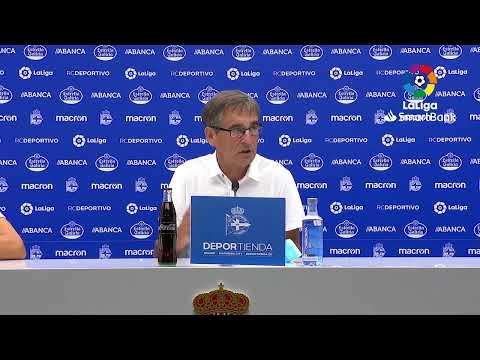 Rueda de prensa RC Deportivo vs CF Fuenlabrada