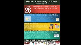 Del Valle Community Coalition  PPE Drive 9/26/2020