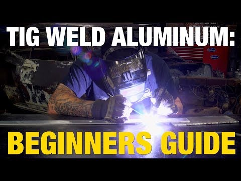 How to TIG Weld Aluminum - Great Tech Tip for Beginners from Eastwood