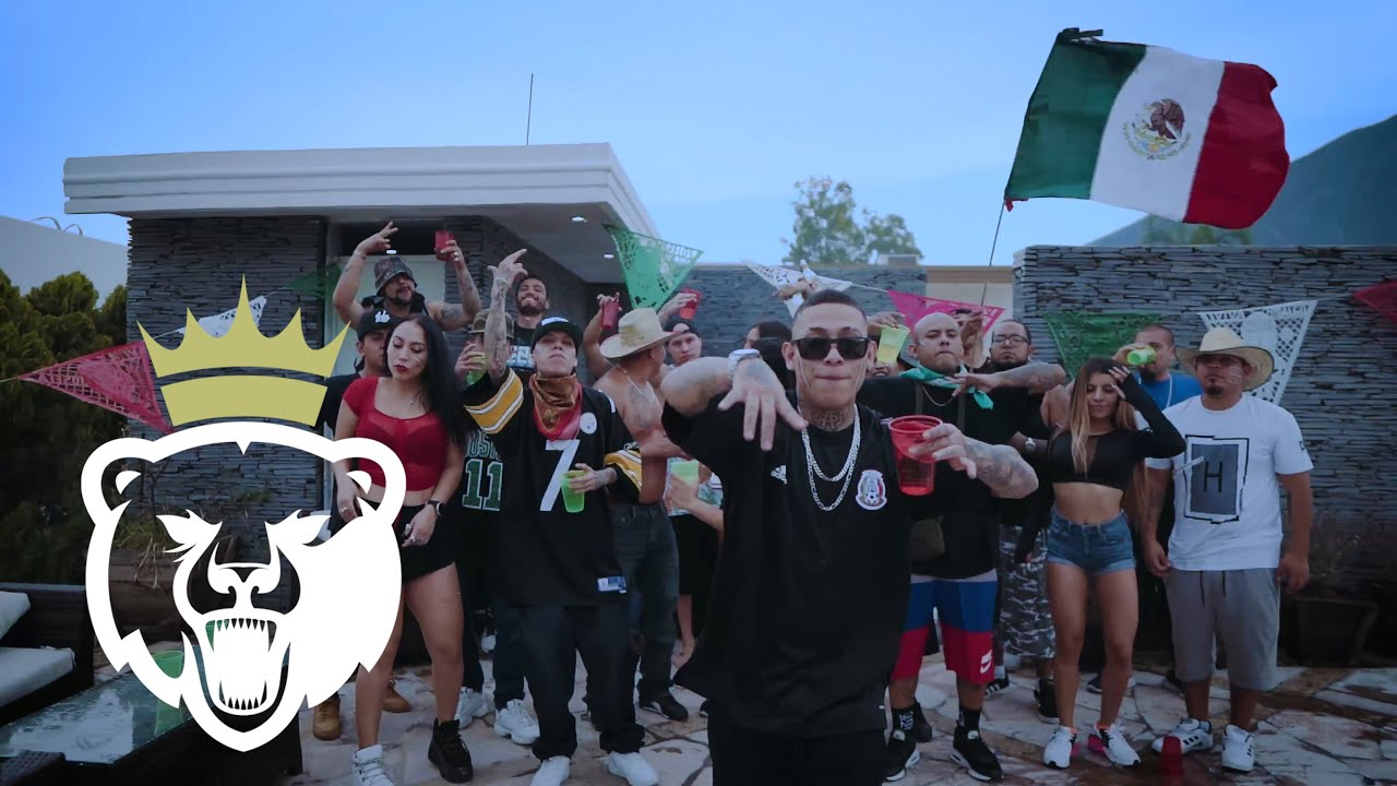 LA SANTA GRIFA FT. SANTA FE KLAN // DE MEXICO SONG // VIDEO OFICIAL