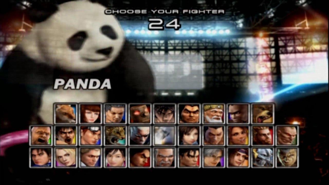 Tekken 5 Panda Youtube