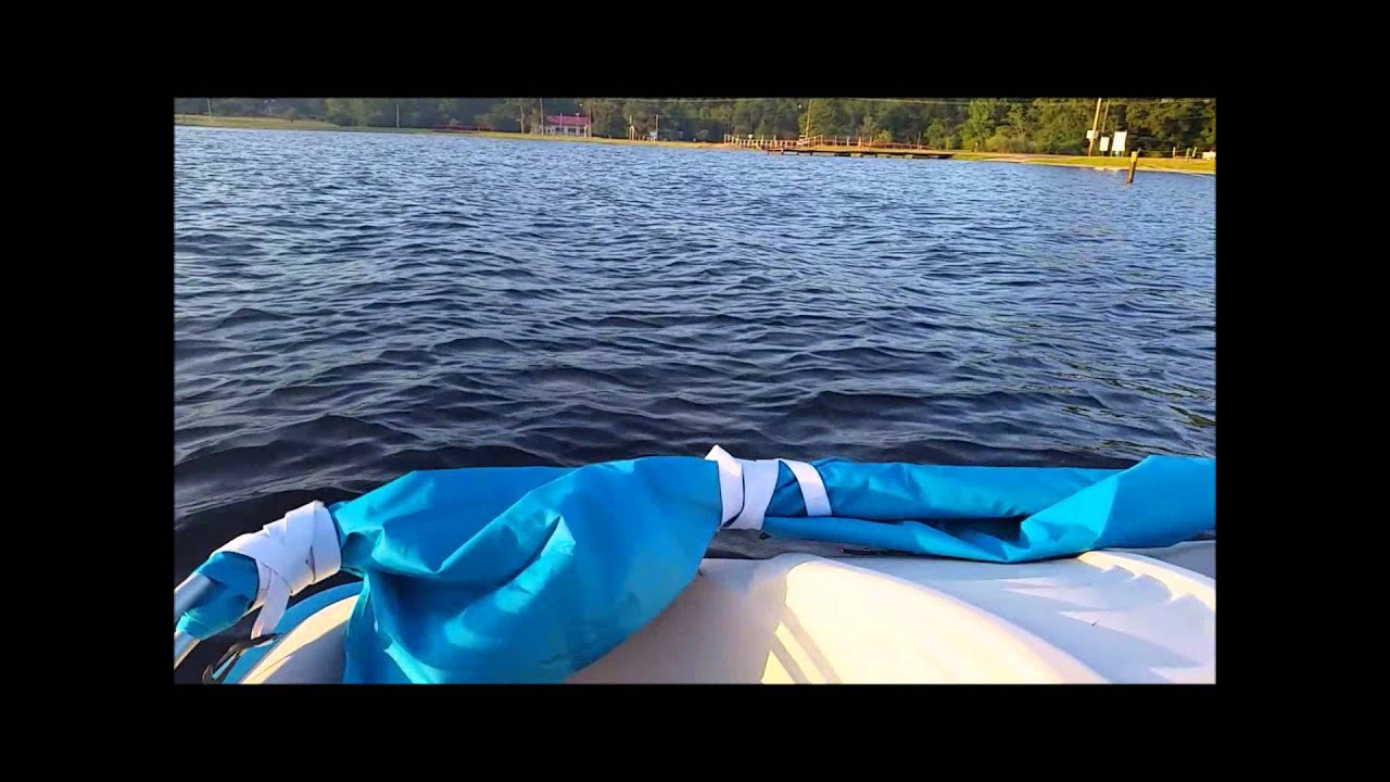 & Sun Dolphin Pedal Boat Review - YouTube