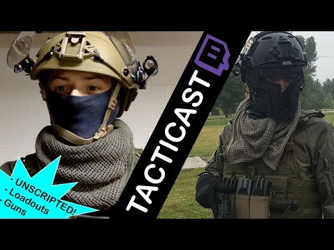 Callsign: Reach -- Tacti-Cast 1 // Airsoft Podcast on Twitch TV (Loadout, Reviews, Airsoft Mashups)
