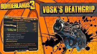 Borderlands 3 | Vosk's Deathgrip Legendary Weapon Guide (Beams of Death!)