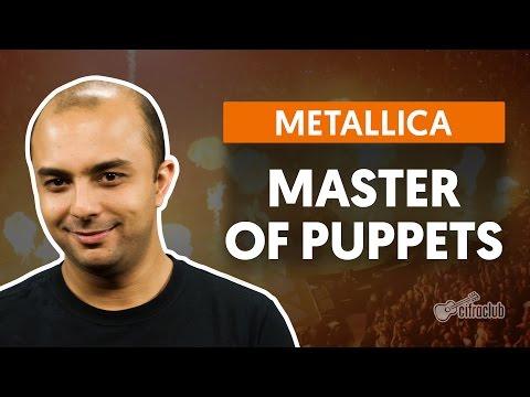 Master Of Puppets - Metallica (aula de bateria)