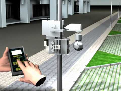 Sherpa - Excelerate Technology's Pole Climbing CCTV Camera