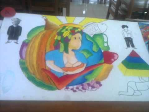nutrition poster making contest ballesteros distict   youtube