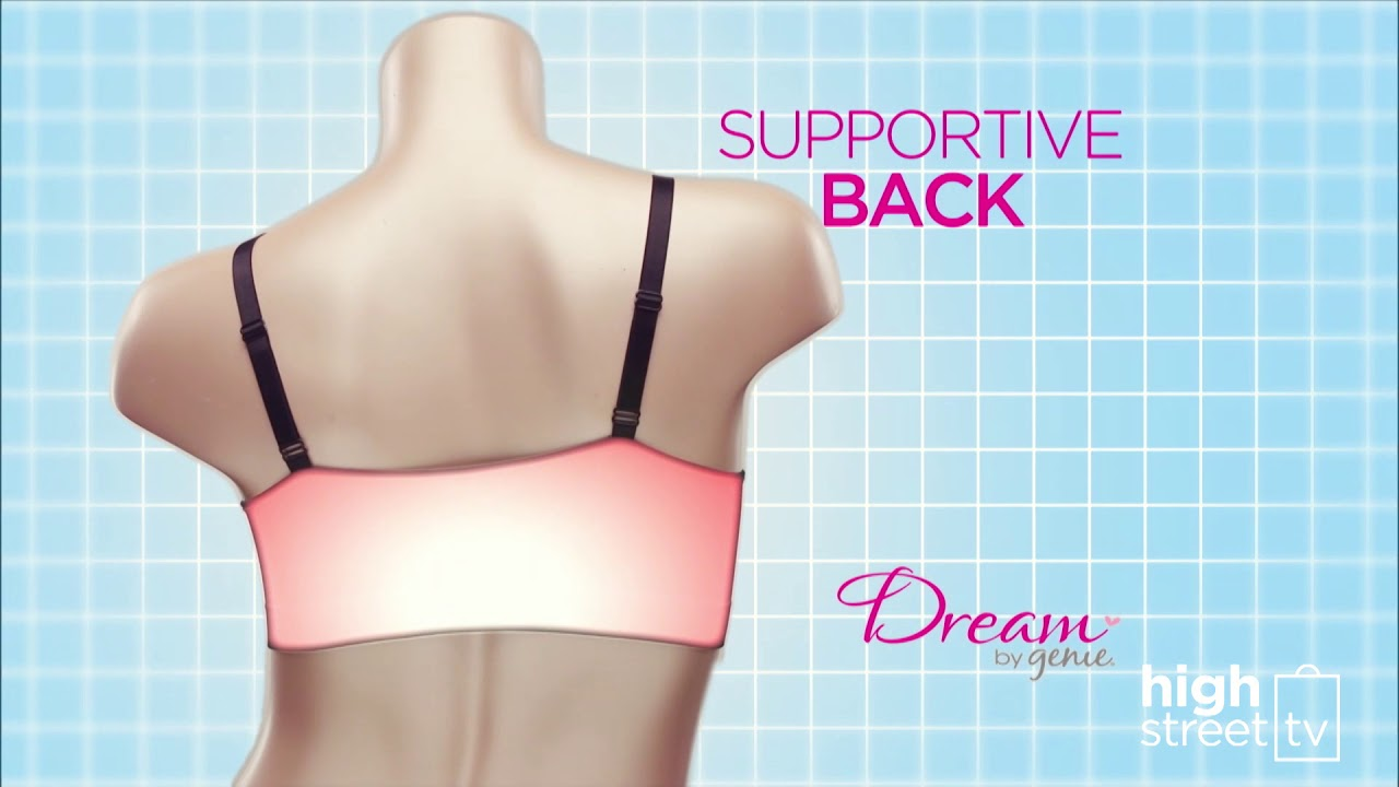 145af4fb00 Dream by Genie Bra - 7 wonders of the Genie Bra - High Street TV ...