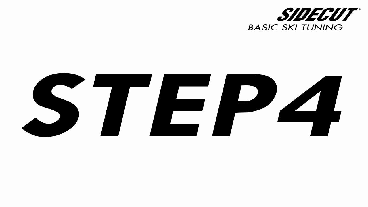 04 Ski Tuning Basic - step 4 Base Bevel