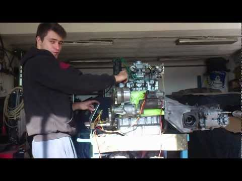 First start Fiat 850 with 903 cc motor