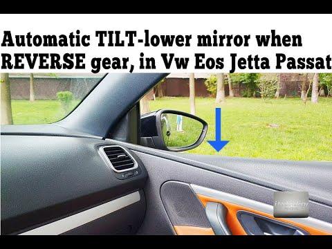 Volkswagen Jetta Passat Golf Geri Viteste Otomatik Ayna İndirme (Mirror Down) Ayarı Nasıl Yapılır