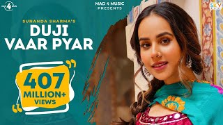 Download song Duji Vaar Pyar | Sunanda Sharma | Sukh-E | Jaani | Arvindr K | Official Video | Mad 4 Music