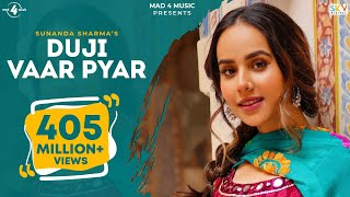 Duji Vaar Pyar | Sunanda Sharma | Sukh-E | Jaani | Arvindr K | Official Video | Mad 4 Music