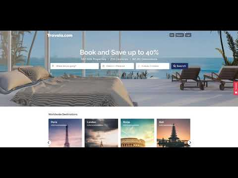 Travala.com- booking site combining funtionality and cryptocurrencies