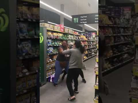 Fighting for Toilet Paper Panic Buying in Australian Supermarket