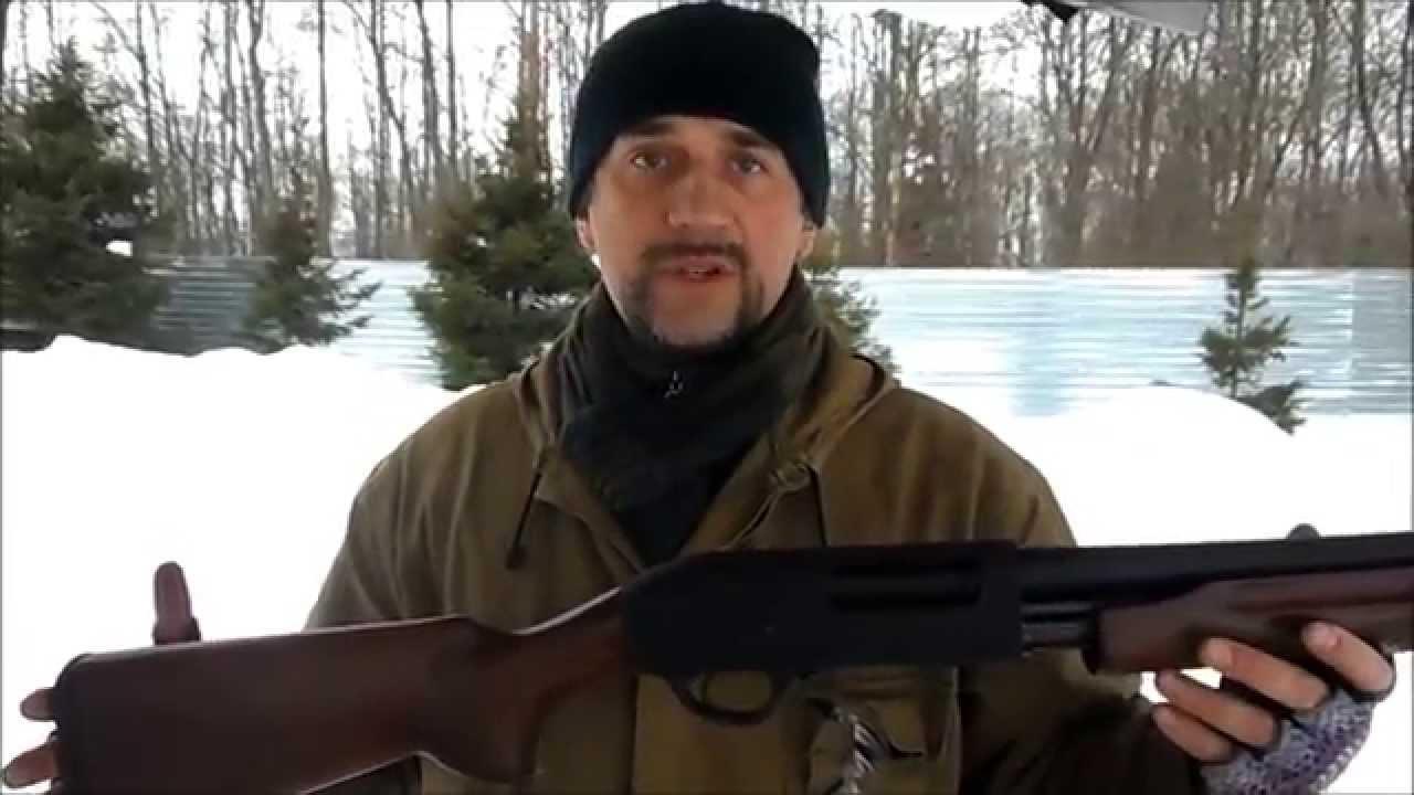 Самое надежное и качественное ружье МР-153 - YouTube