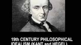 PHILOSOPHY: IDEALISM, KANT and HEGEL