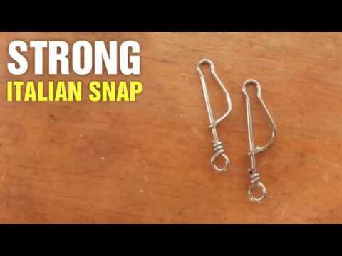 Fishing Hack #3 - DIY Italian Snap