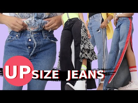 4-really-cool-ways-to-make-jeans-bigger-|-upsize-jeans
