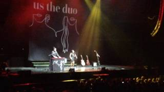 Us The Duo ~ Top Hits 2015 (02/06/2016 @ Lotte Arena, Antwerp)