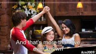 High School Musical 2 - You are the Music In Me