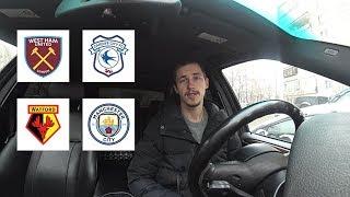 Прогнозы на матчи Вест Хэм - Кардифф   Уотфорд - Манчестер Сити
