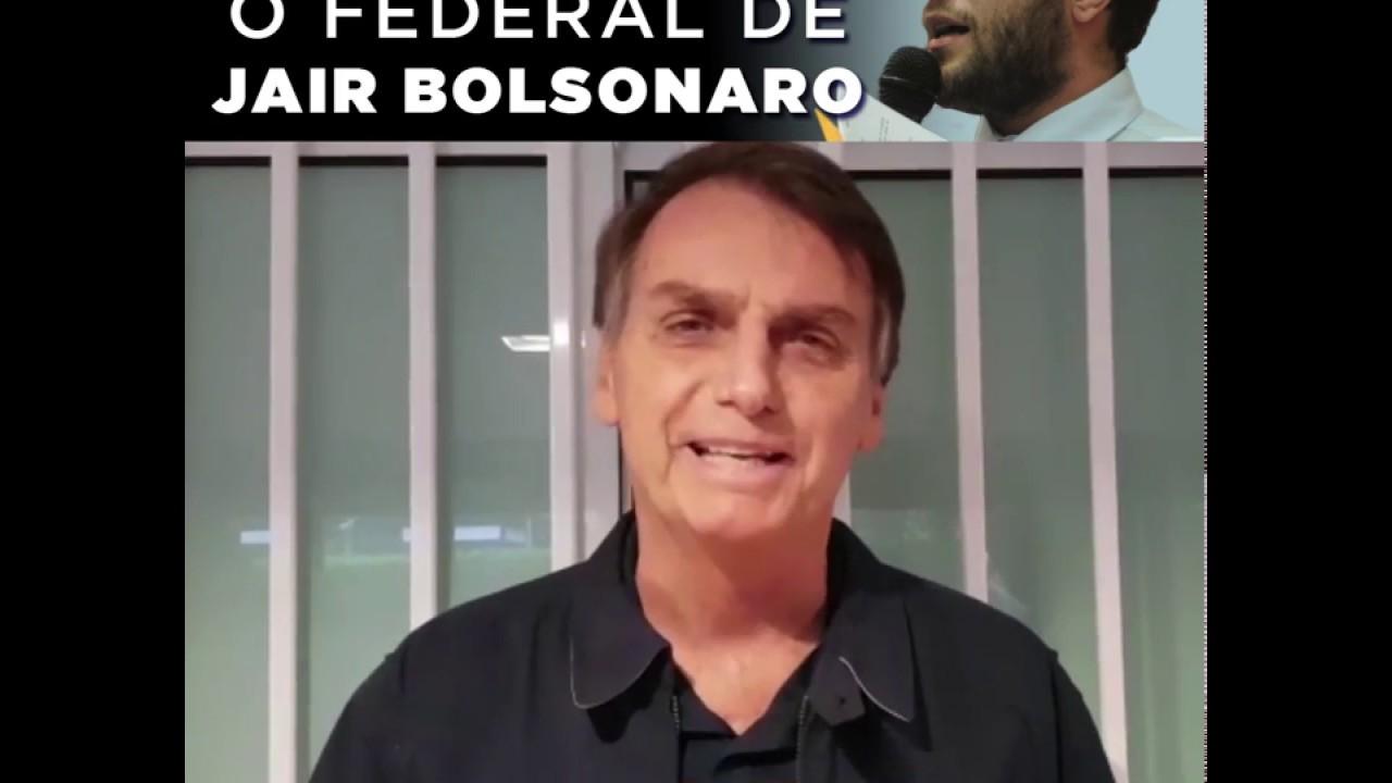 URGENTE -  BOLSONARO DECLARA APOIO A FILIPE BARROS