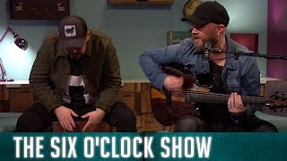 """Ryan Sheridan performs """"Shackles and Bolts"""" on The Six O'Clock Show"""
