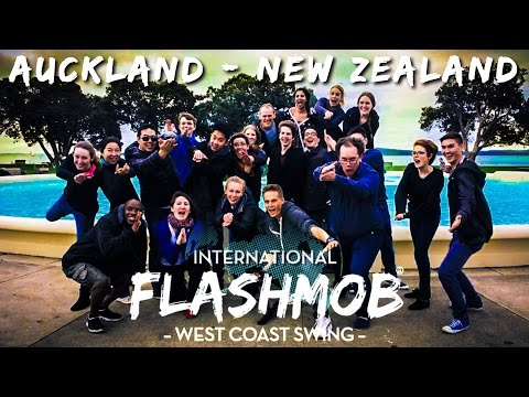 International West Coast Swing Flashmob - Auckland, New Zealand (2015)