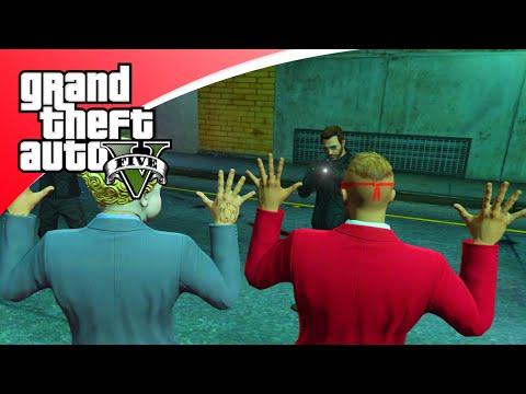 GTA V Online - VLUCHTEN VOOR DE POLITIE MET BOB EN TEUN! (GTA 5 Freeroam, Roleplay)