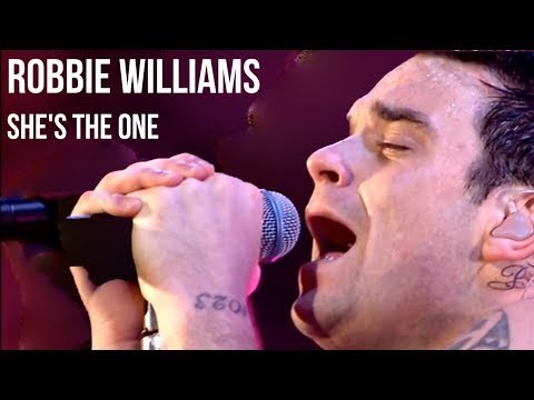 Robbie Williams - She&39;s the One  at Knebworth  subtitulada en Español +