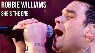 Baixar Robbie Williams - She's the One (live at Knebworth) | subtitulada en Español + lyrics