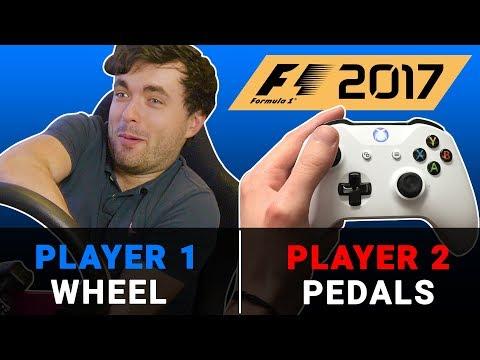 F1 2017 Game Challenge: You Steer, I Drive