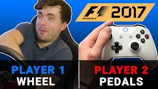 F1 2017 Game Challenge: You Steer, I Drive
