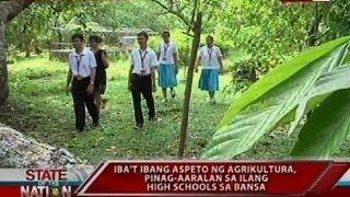SONA: Pagkakaroon ng rural farm high school sa bawat probinsya, isinusulong